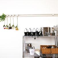 料理教室アグレアーブルの調理器具