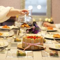 料理教室アグレアーブル料理試食風景