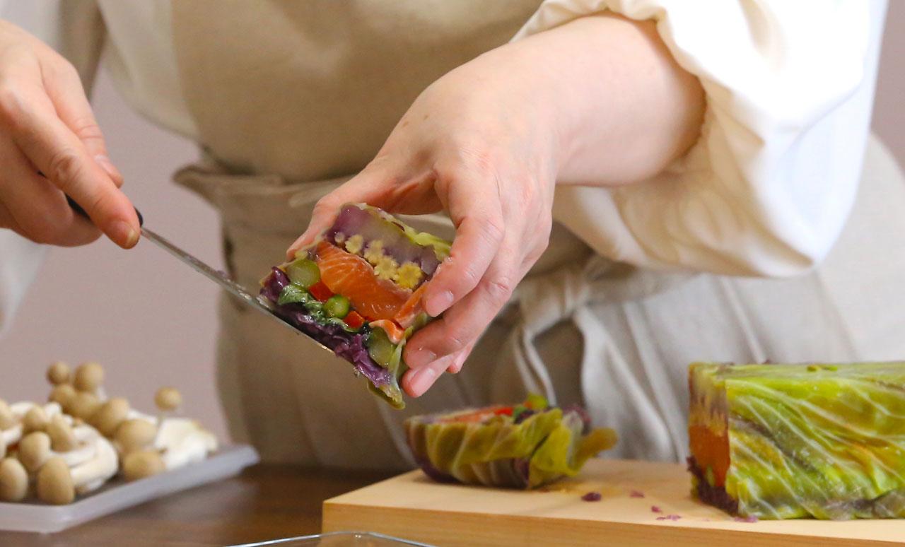 料理教室アグレアーブル調理風景